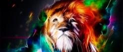 Fractalious Lion