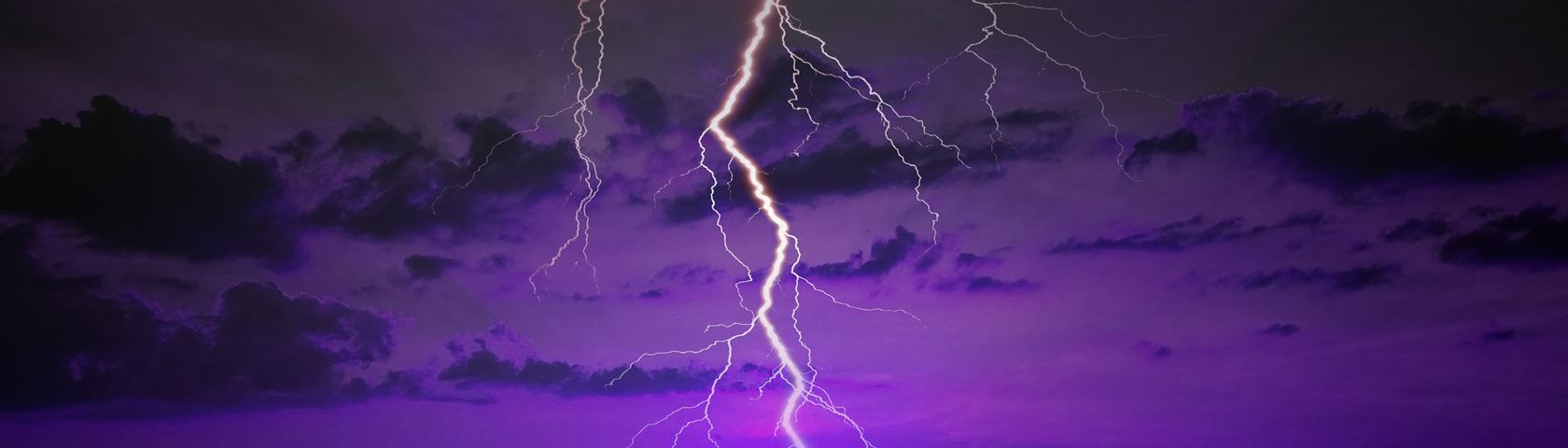 Lightning Storm Clouds Photo