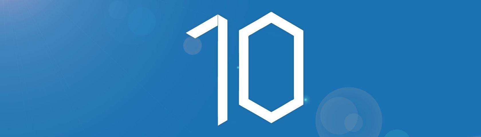 Windows 10 Squared 10