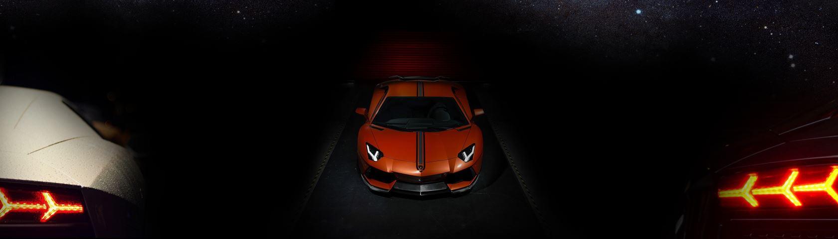 Lamborghini Aventador Tripple Screen