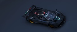 Zonda R Top View