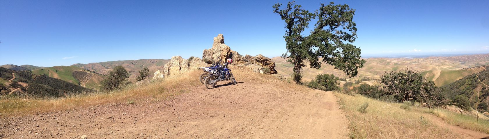 Summertime Dirtbike Riding