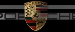 Porsche Logo Tripple Screen