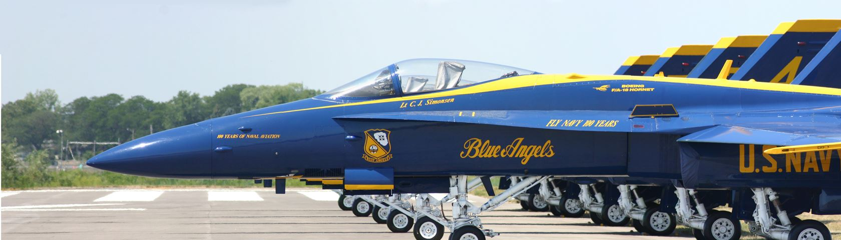Blue Angles ROC Airshow