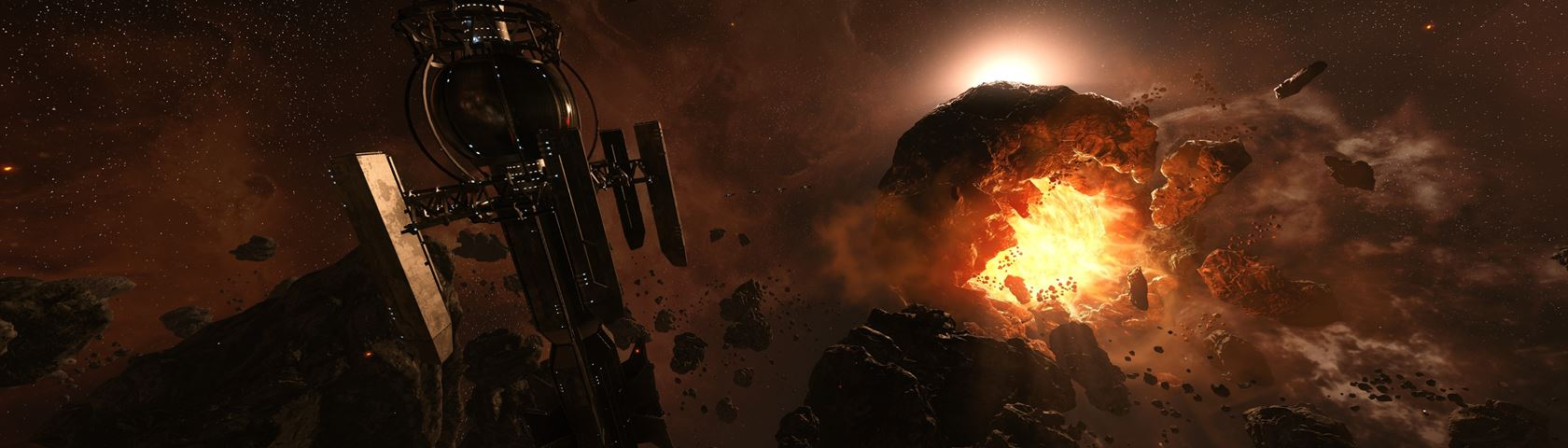 Star Citizen Dying Star
