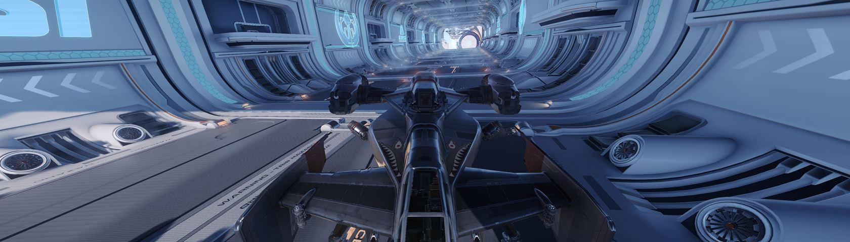 Star Citizen Race Tunnel