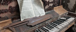 Abandoned and Decayed Piano