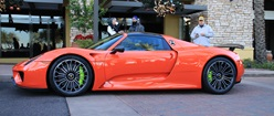 Porsche 918 Spyder in Signal Orange