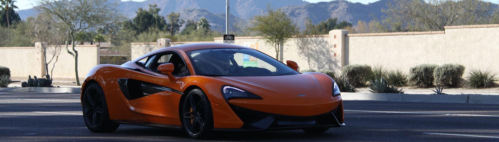 McLaren 570s (Front/Rolling Shot)