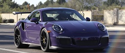 Porsche GT3RS in Purple Haze