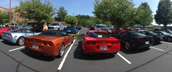 Corvettes in Panoramic View