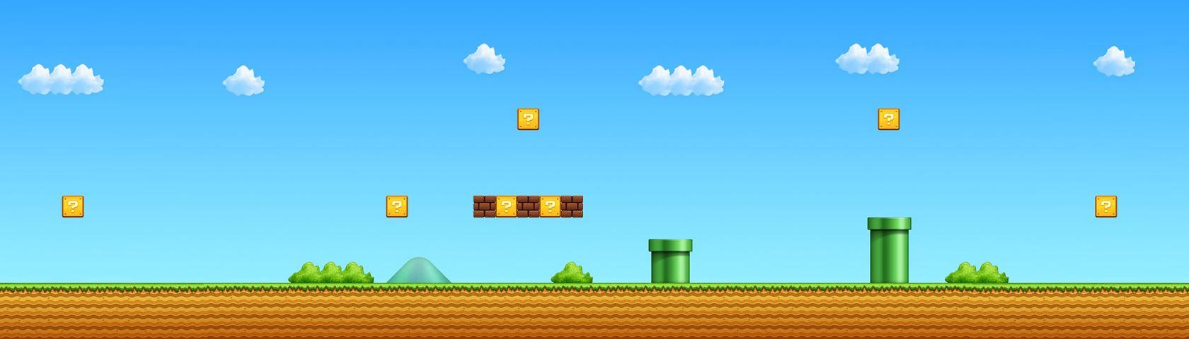 1-1 Super Mario All-Stars