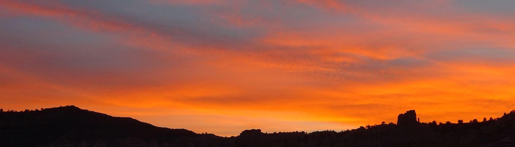 Sunrise in Cannonville