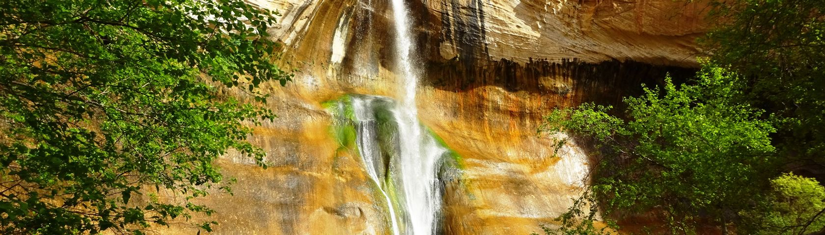 Lower Calf Creek Waterfall