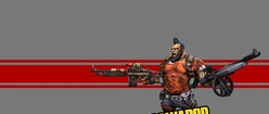 Salvador from Borderlands 2
