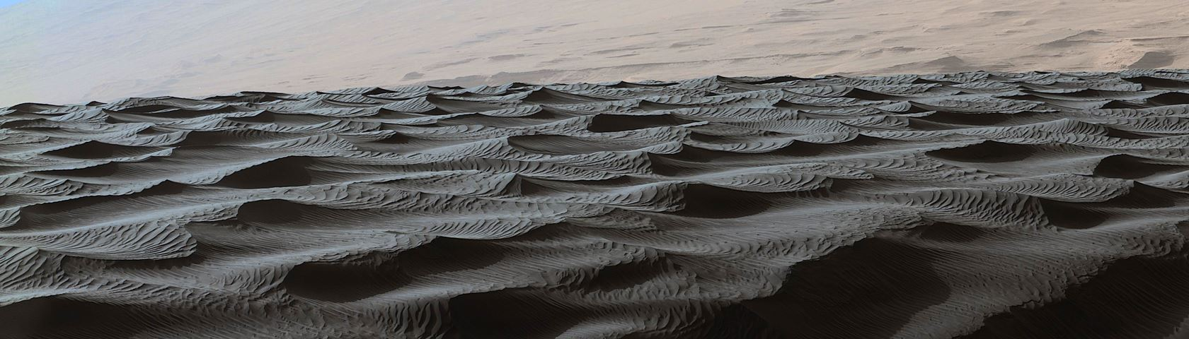 Dark Dunes on Mars