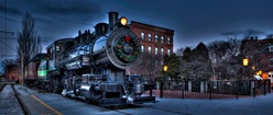 Christmas City Locomotive