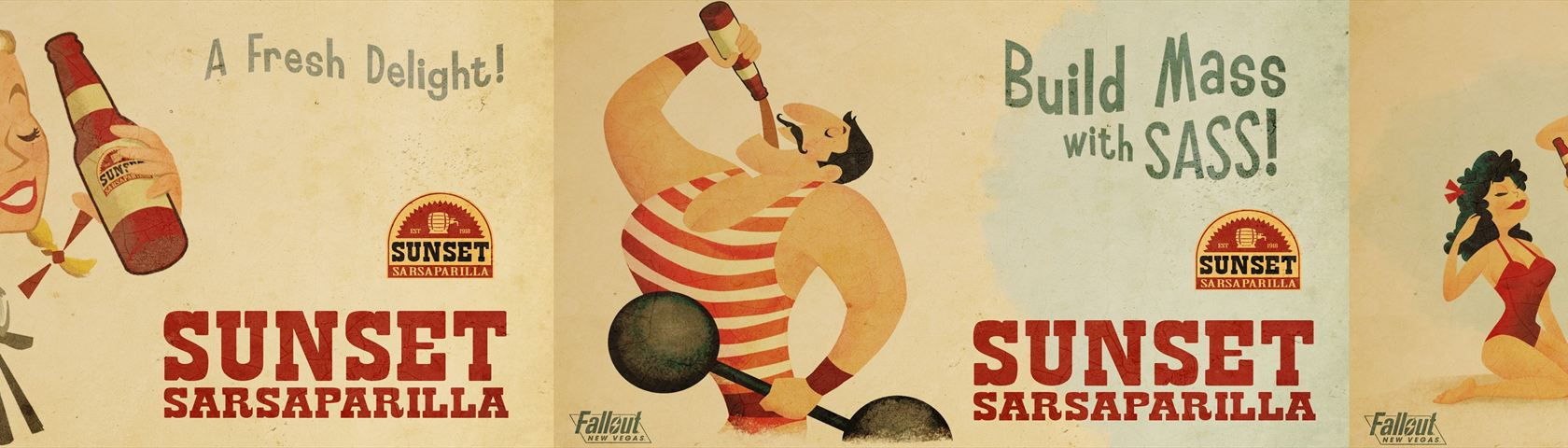 Fallout: Sunset Sarsaparilla Posters