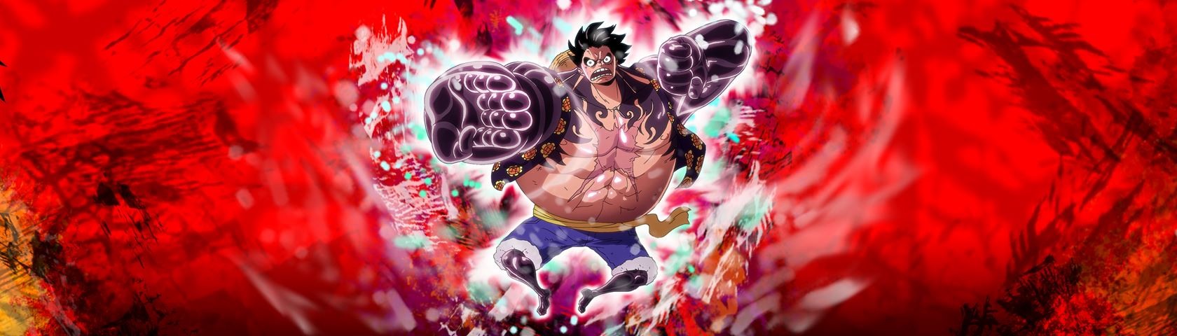 One Piece Luffy Triple Monitor Wallpaper HD