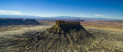 Factory Butte from Drone