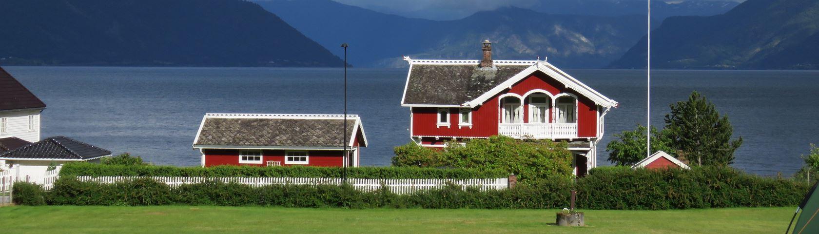House at Balestrand Norway