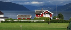 House at Balestrand Norway