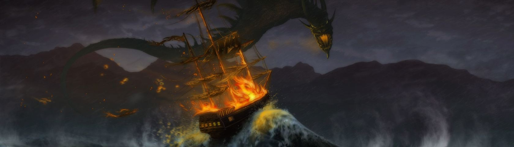 Dragon ship