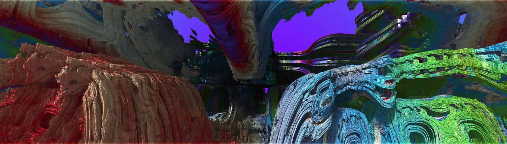 Inexplicable Xenomorphic Constructs of the Fractal Expanse