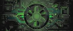 DIGITAL HUD GREEN FAN2
