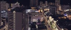 Honolulu Night City View