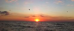 Red Sunset Indian Rocks Beach FL