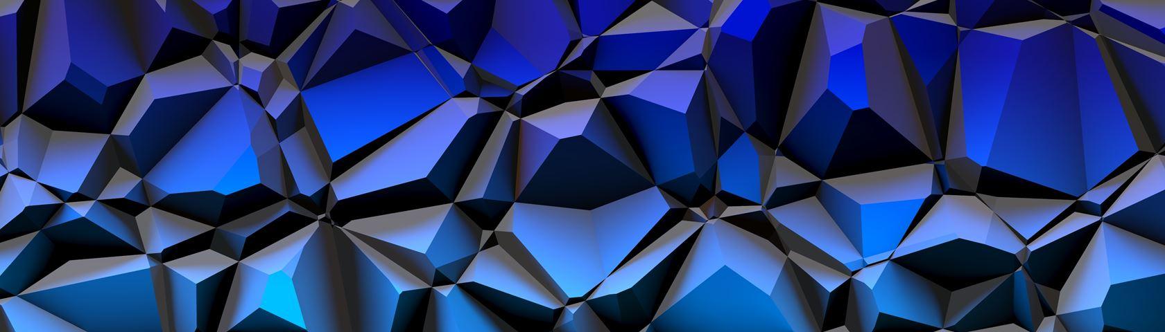 Polygon Blue