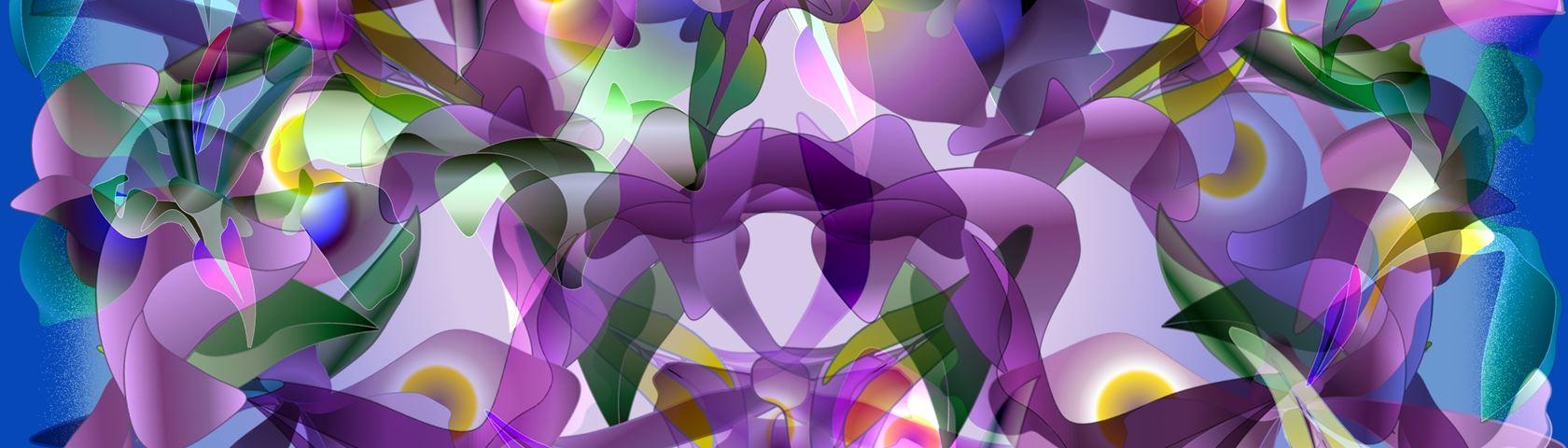 Wild Iris Collage