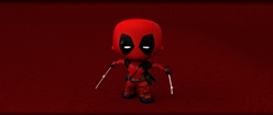 Deadpool Mini Swords Up