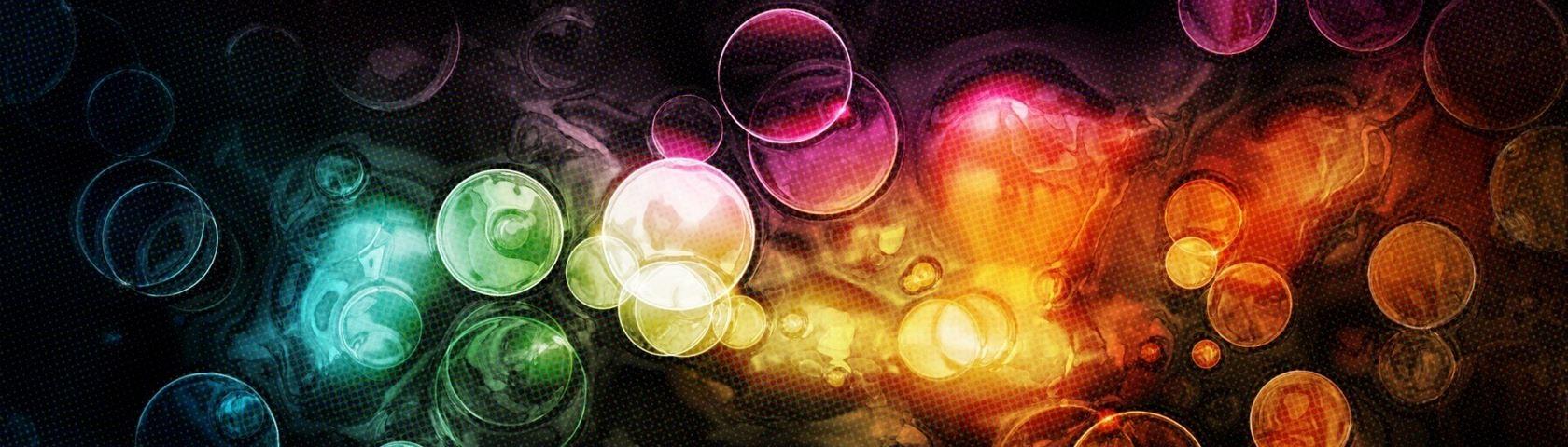 Tie Dye Bubbles