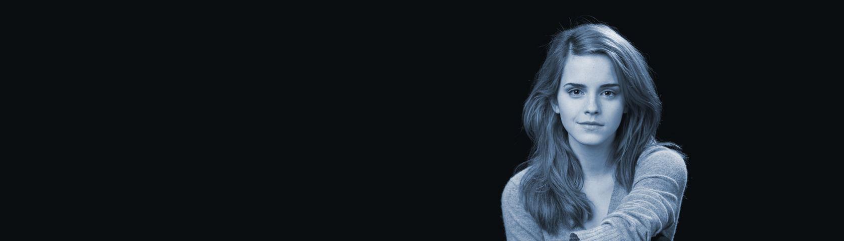 Emma Watson Blue