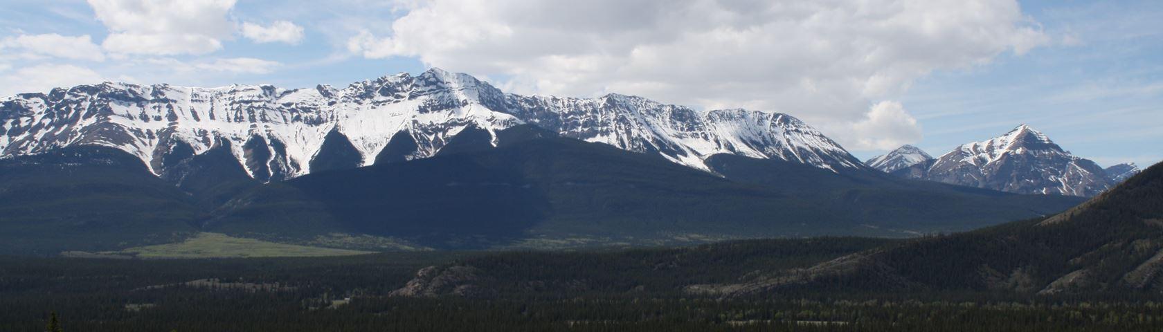 Jasper Mountain Range