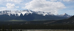 Jasper Mountain Range
