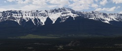 Panoramic Mountain Range
