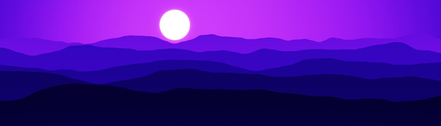 Mountains (Indigo)
