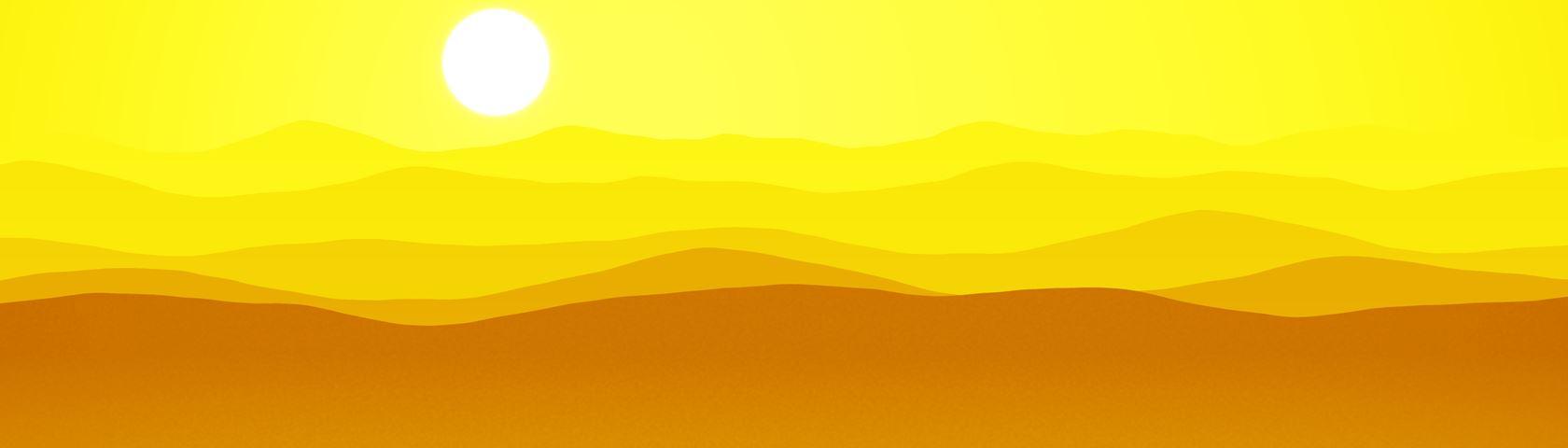Mountains (Yellow)