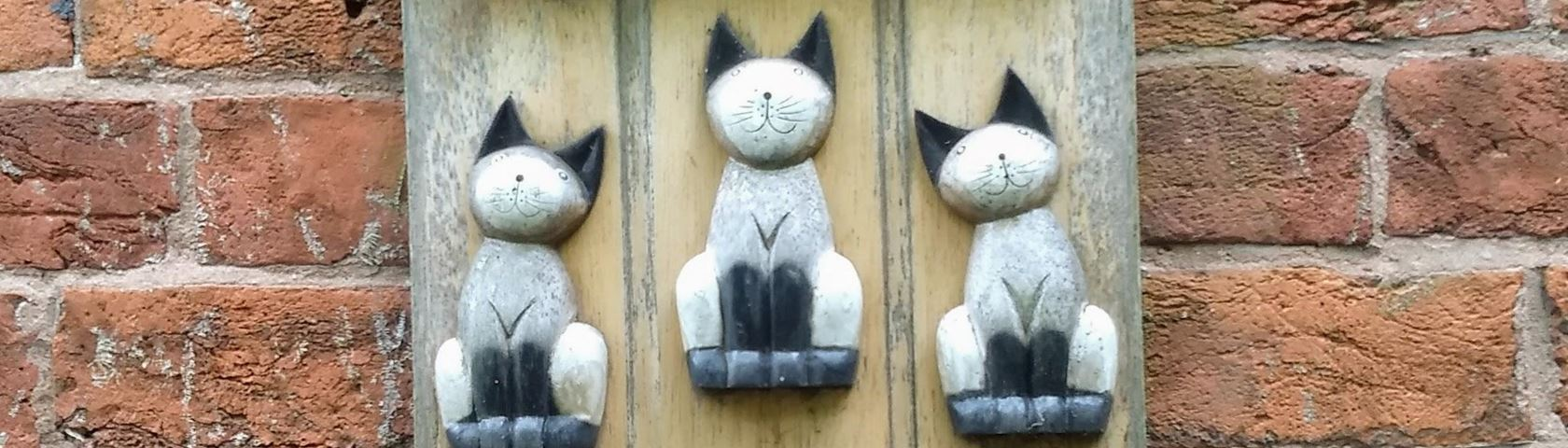 Carved Cats