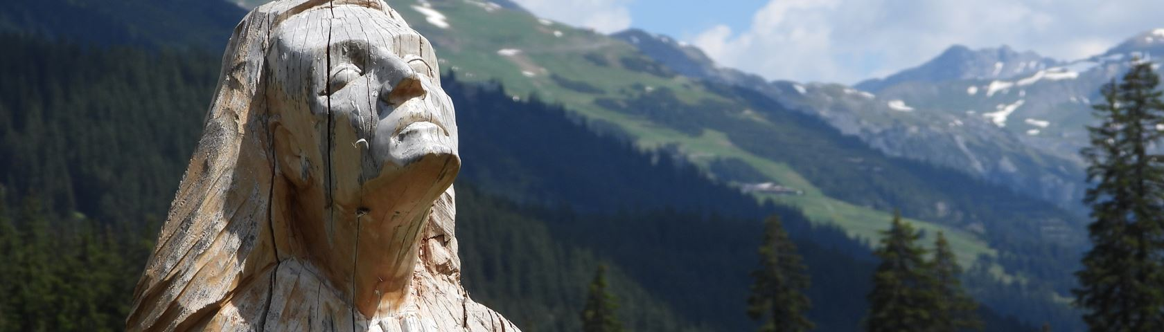 Statue on a Mountain