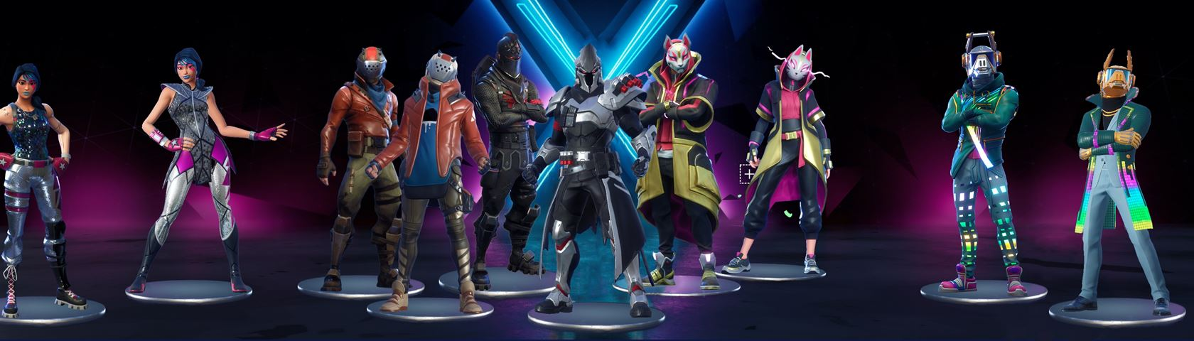 Fortnite Season 10 Old and New Skins
