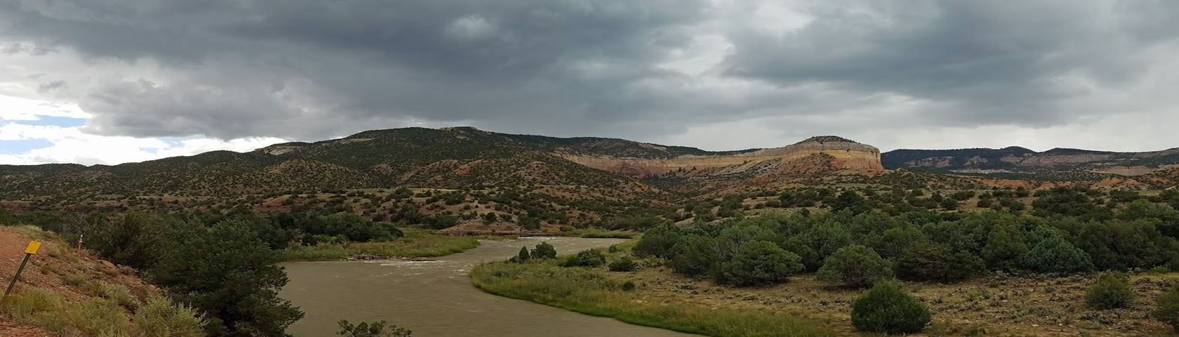 Rain Clouds over the Chama