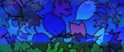 Leaded Leaf Collage