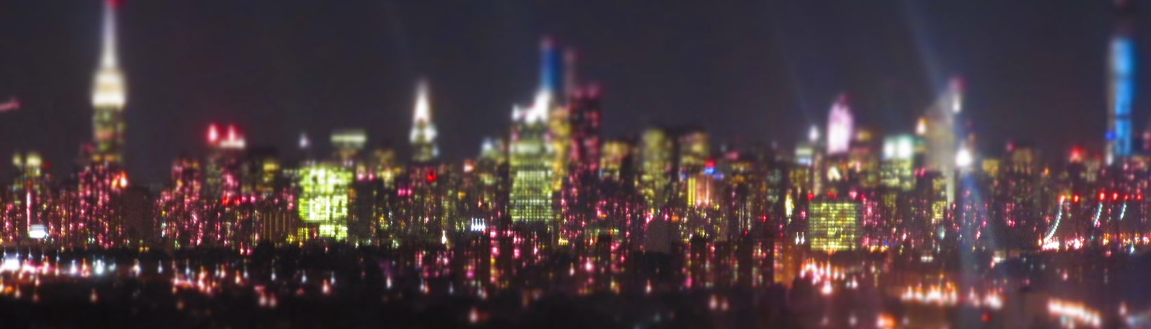 New York City Skyline - Infrared - Ultraviolet - Creative Camera Setting