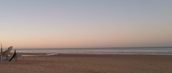 Sunset on Omaha Beach