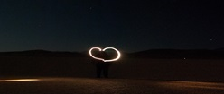 Heart in Alvord desert
