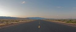 Road to the Alvord desert